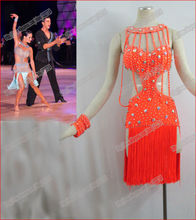 Latin dance/Waltz Tango Ballroom Dance Dress,Girls/Women Modern Dance/Perform Costume/Wear LD-0019