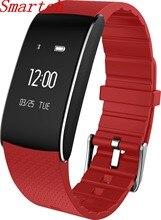 Smartch умный Браслет A86 Bluetooth Давление интеллектуальные Носимых устройств pulsometro Водонепроницаемый браслет для iOS и Android