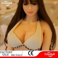 Cosdoll 140 cm Seks Lalki Realistyczne Prawdziwe Azji, w pełnym Rozmiarze Silikonowy z Metalowego Szkieletu Miłość Lalki, Jamy Ustnej Pochwy Cipki Anal sex Lalki dla Mężczyzn