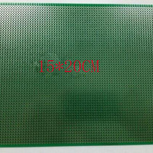 free shipping 15*20CM single sided pcb spray tin 1.6mm 2.54 pitch universal board pcb manufactur
