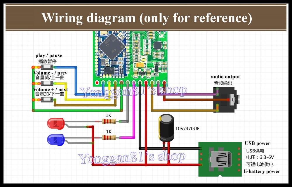 csr8645 ксо 4.1 bluetooth-приемник модуль + микрофон diy ...