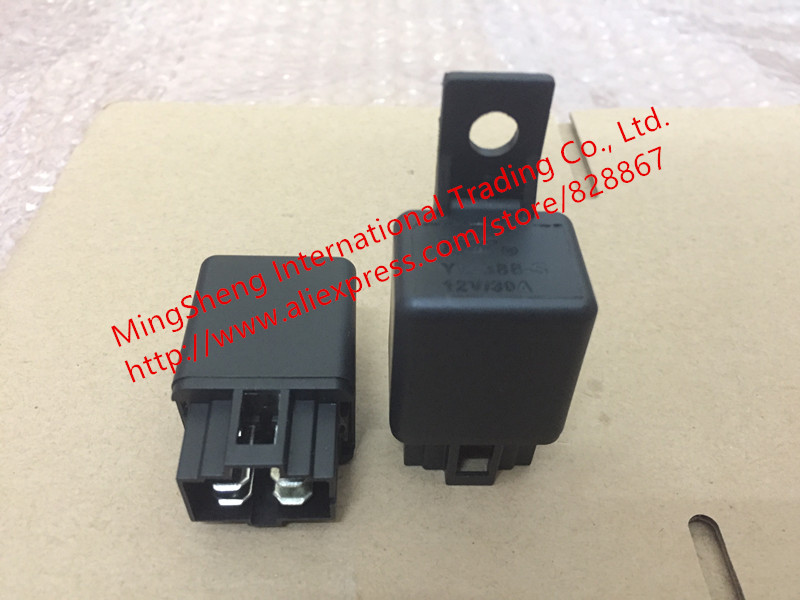 цена на Original new 100% YLE relay 12V relay 4 car Yonglin pin with the opening type automobile air conditioner relay