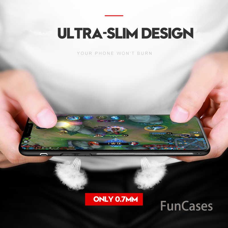 Mềm TPU cạnh Sang Trọng Điện Thoại trường hợp Đối Với Huawei P20 Lite Pro copue Honor 9 Lite ánh sáng p thông minh 20pro 20 lite Silicone Cover quay lại capa
