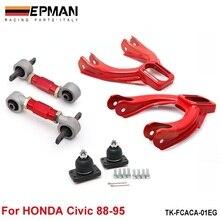 Задний нижний рычаг управления+ передний развал комплекты подходит для 92-95 Honda Civic EG EJ EH EP-FCACA-01EG
