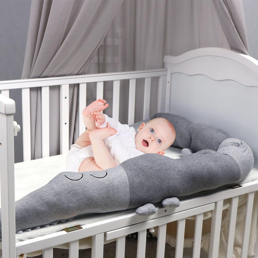 Parachoques para cama de bebé recién nacido de 185cm, almohada de cocodrilo para niños, parachoques para cuna, cerca para cuna, protección de algodón, decoración para dormitorio de niños Fundas elásticas, funda para sofá para sala de estar, funda para sofá elástica antideslizante, funda para sofá, toalla individual/dos/tres/cuatro asientos