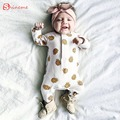 white high quality soft rompers spring and autunm baby clothes for newborn girl jumpsuit clothes for newborn kids clothing