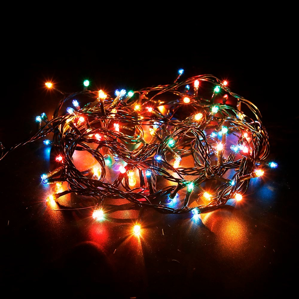 led string lights 4m 100leds holiday multi color with controller factory sale for party garden. Black Bedroom Furniture Sets. Home Design Ideas