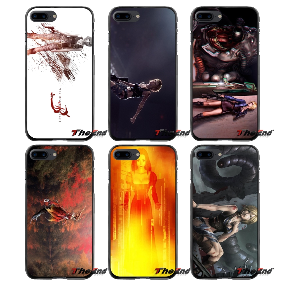 Accessories Phone Shell Covers For Apple iPhone 4 4S 5 5S 5C SE 6 6S 7 8 Plus X iPod Touch 4 5 6 Parasite Eve 2