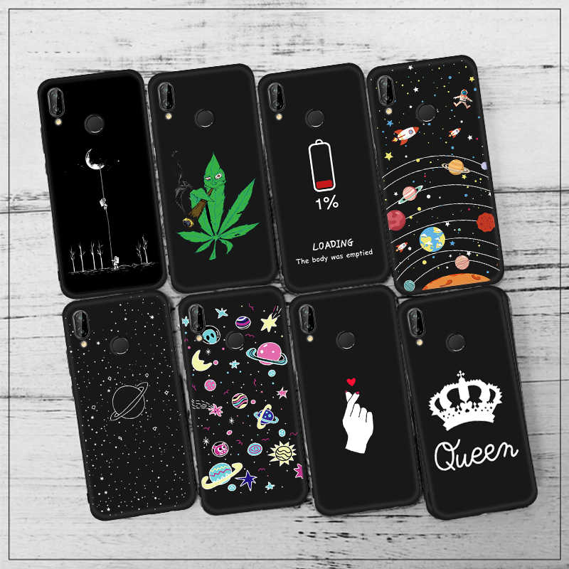 Silicone Phone Case For Huawei P20 Mate 20 Pro Lite For Honor 8X Max 8C 10 9 Lite Note 10 6C Pro Magic 2 7X Y9 2019 Matte Cover