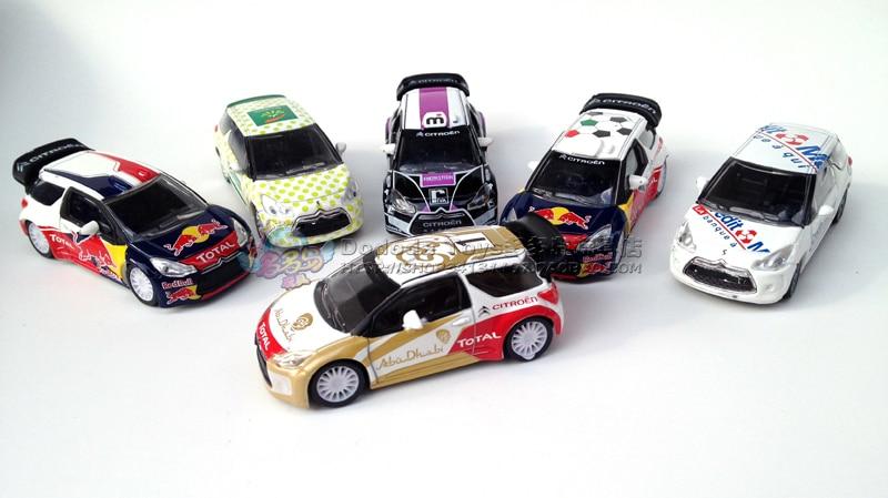 Alloy mannequin automobile NOREV CITROEN racing mannequin design