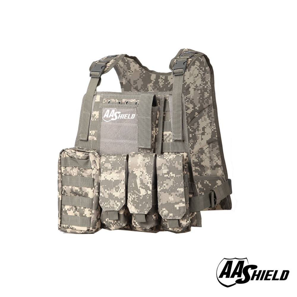 AA Shield Molle Hunting Plates Carrier MBAV Style Military Tactical Vest / ACUAA Shield Molle Hunting Plates Carrier MBAV Style Military Tactical Vest / ACU