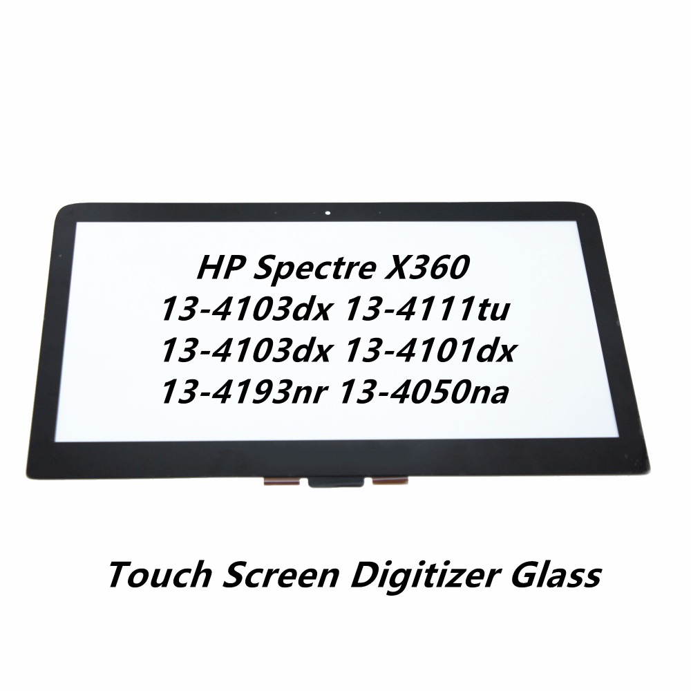 Touch Panel Screen Glass Digitizer Replacement For HP Spectre X360 13-4103dx 13-4111tu 13-4103dx 13-4101dx 13-4193nr 13-4050na ультрабук трансформер hp spectre x360 13 ae012ur 2vz72ea 2vz72ea