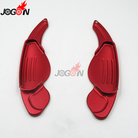Red Silver Black DSG Steering Wheel Paddle Extension Shifter Cover Trim 2P For Land Rover LR