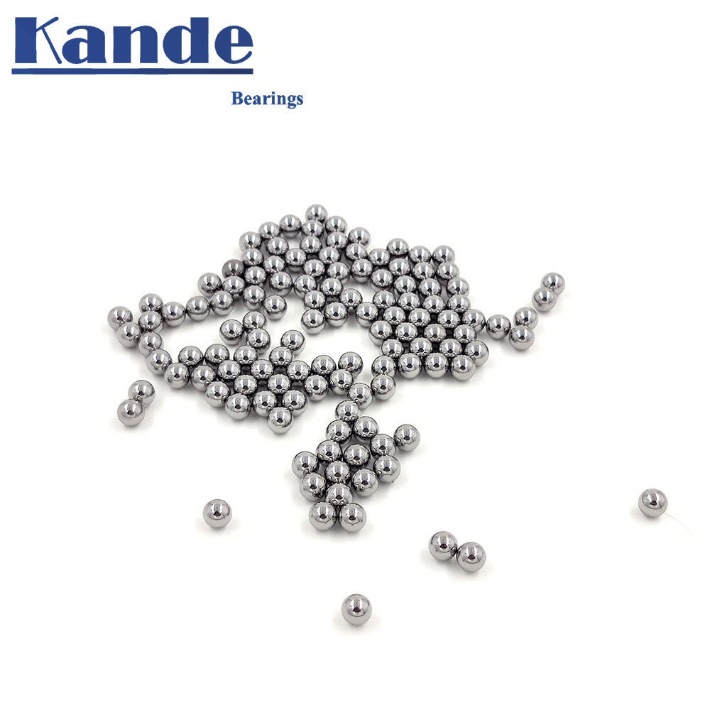 High Quality 5 10mm GCR15 Solid ball High precision G10 5 6 7 8 9 10mm 50Pcs hardness bearing ball impact test No Magnet in Bearings from Home Improvement