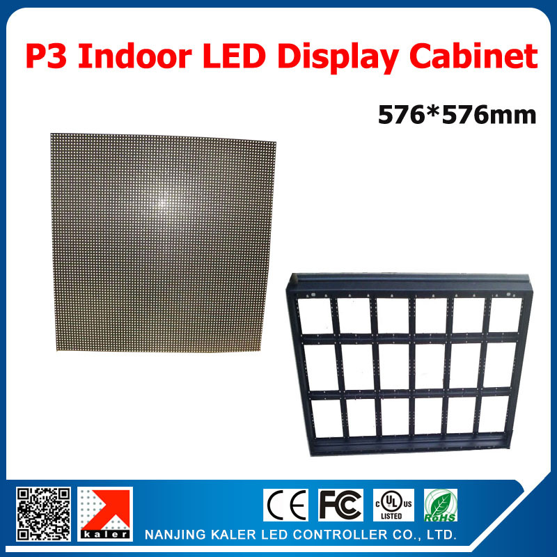 TEEHOP3 Indoor Full Color Led Display 576*576mm Simple And Easy Led Display Cabinet Indoor Video Wall Mounting On Wall Videowall