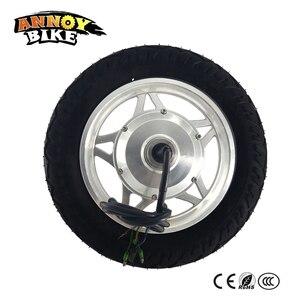 12 motor motor motor bonde da engrenagem do carrinho de mão 12 polegadas peso leve do cubo de torque alto do motor do pneu estreito 24 v 36 v 48 v 250 w 350 w eixo dobro