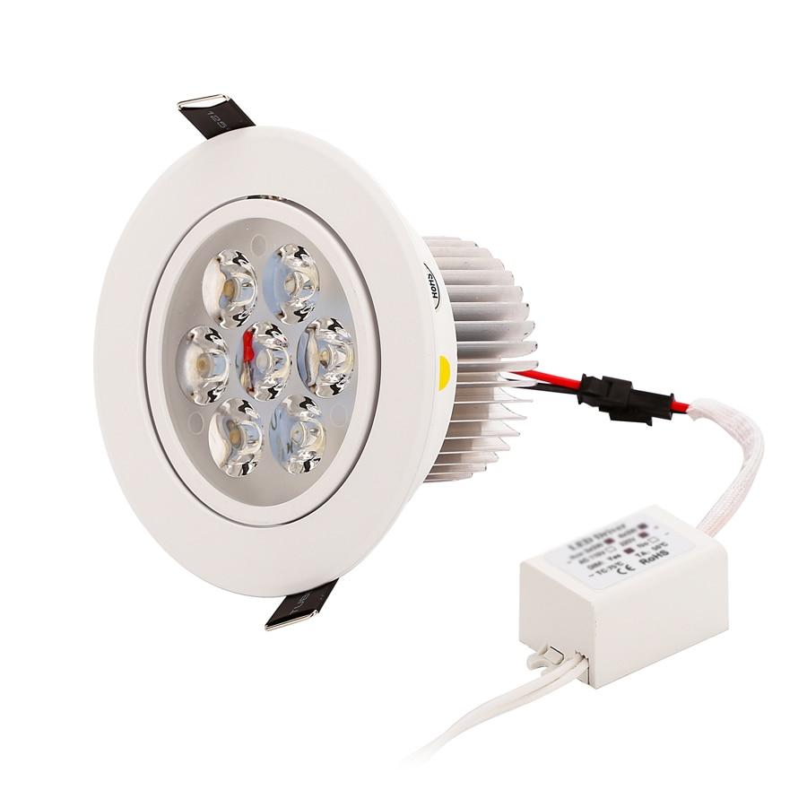 1 stks Dimbare LED Verzonken Downlight 1 W 3 W 5 W 7 W 90-770lm Cut - Binnenverlichting - Foto 6