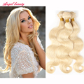 Brazilian virgin Human Hair Body Wave Sexay Hair 613 Blonde Body Wave Brazilian Human Hair Curly Bundles Blonde Hair Extensions