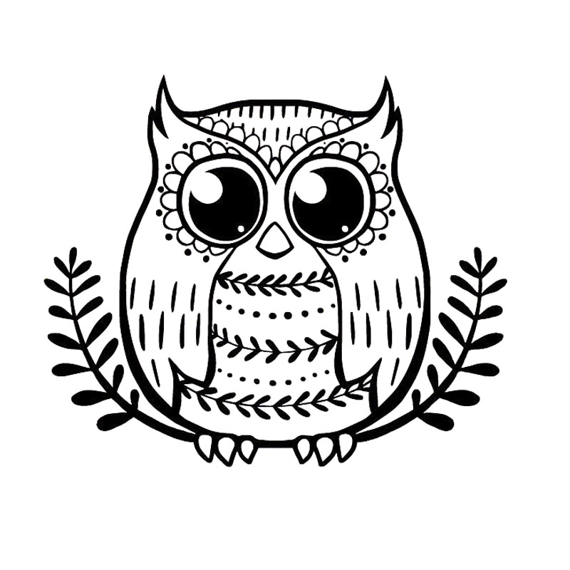 15 5x13cm Owl Branch Leaves Wise Cute Vinyl Decal Car Sticker Black Silver Accessories S6 2560 Car Sticker Stickers Blackcar Decal Sticker Aliexpress