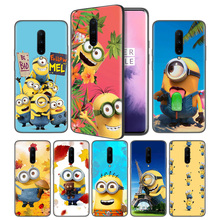 Banana Yellow Man Soft Black Silicone Case Cover for OnePlus 6 6T 7 Pro 5G Ultra-thin TPU Phone Back Protective Coque Fundas