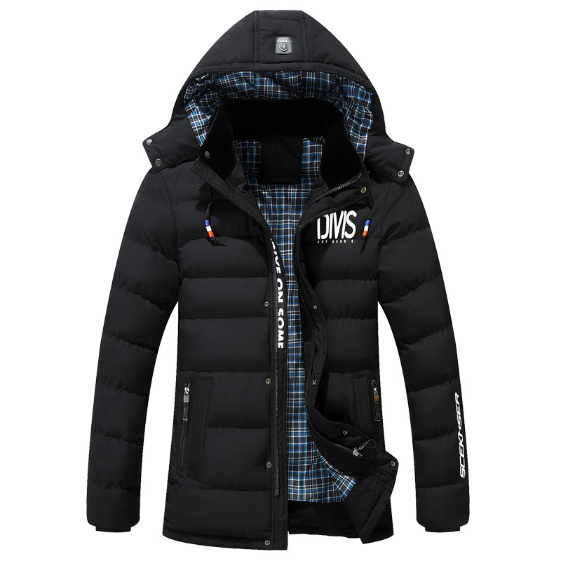 2016 High Quality BRAND Winter Jacket Men Coat Long Thicken Outwear Hooded Men s Parka