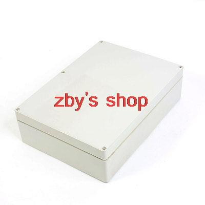 290mmx210mmx80mm Cable Connect Waterproof Plastic Case Junction Box 4pcs a lot diy plastic enclosure for electronic handheld led junction box abs housing control box waterproof case 238 134 50mm