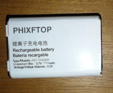 PHIXFTOP D'origine AB1720AWM batterie Pour PHILIPS X500 téléphone portable Xenium CTX500 9 @ 9 K Mobile téléphone
