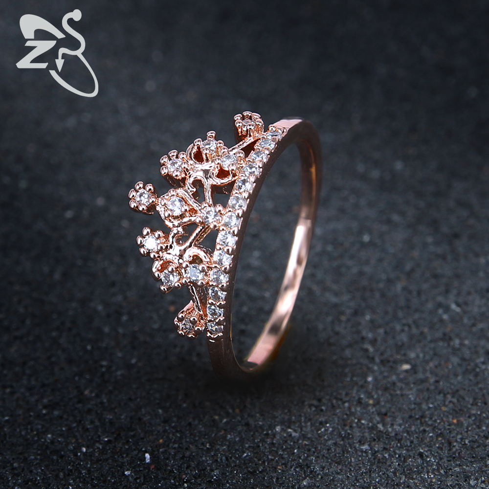 Popular Gold Crown Ring Promise Ring-Buy Cheap Gold Crown Ring ...