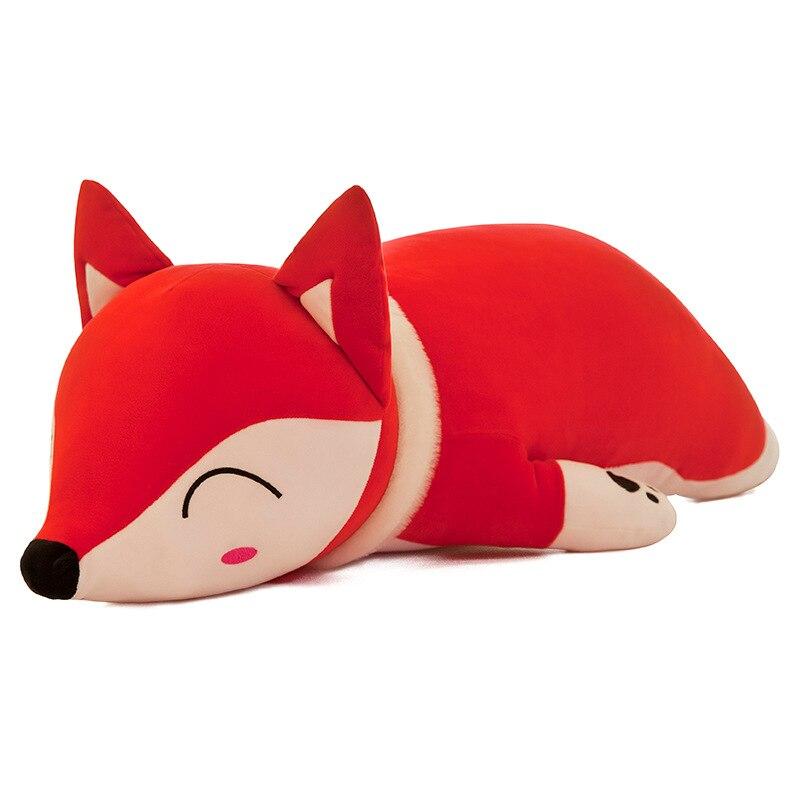 New 35-70cm Foxes Dolls Stuffed Animals & Plush Toys For Girls Children Boys Toys Plush Pillow Fox Stuffed Animals Soft Toy Doll