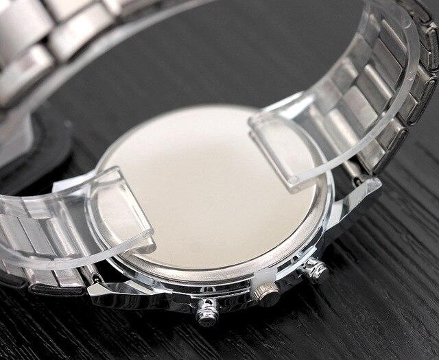 New Men Fashion Watch Hot Brand Casual Luxury Full Stainless Steel Quartz WristWatch relogio masculino mwatches 5