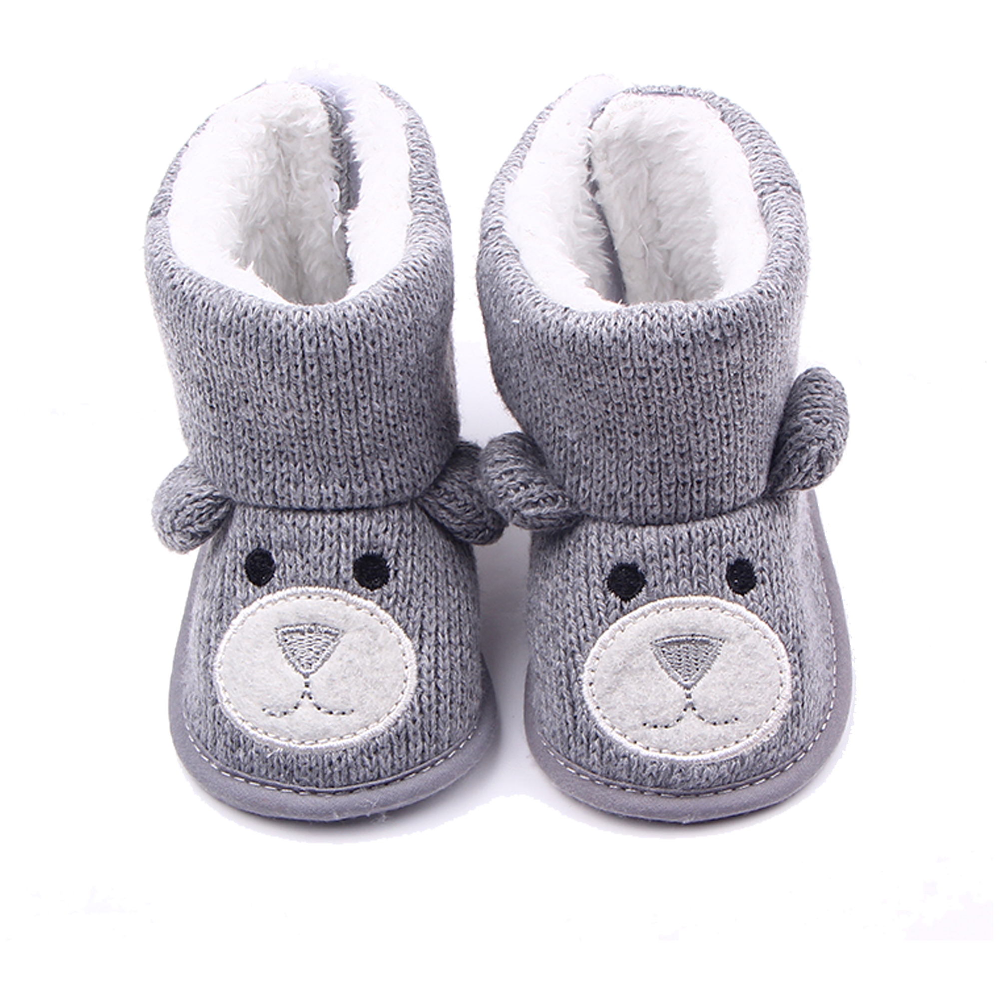 Baby Boots Cartoon Bear Newborn Boy Girl Boot Infant Boys Girls Cute Wither Booties Toddler Baby Super Keep Warm Snowfield Shoe