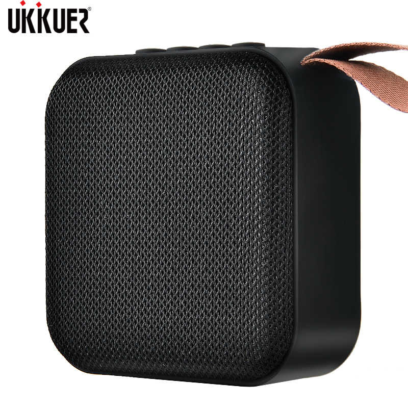 Portabel Bluetooth Speaker Mini Nirkabel Loudspeaker Suara Sistem 3D Musik Stereo Surround Outdoor Speaker Mendukung FM TF Card