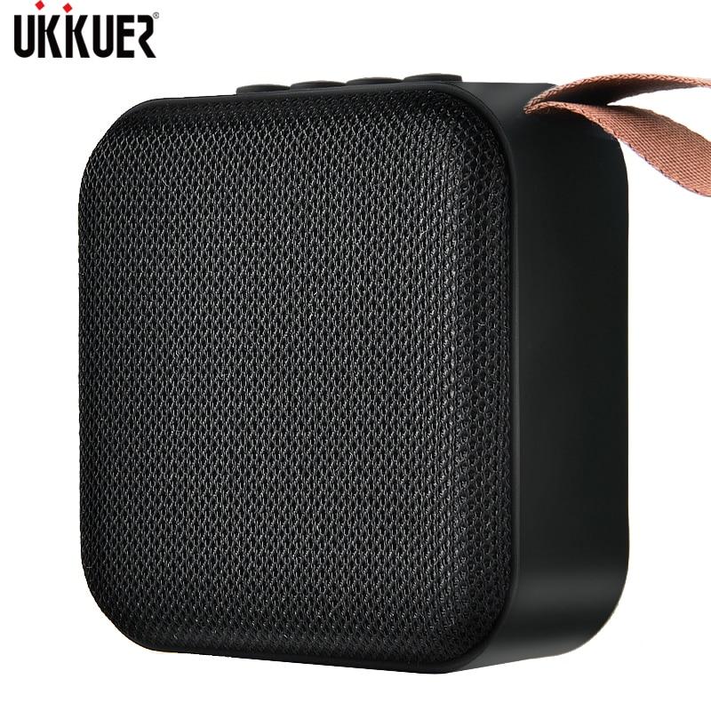 Portable Bluetooth Speaker Mini Wireless Loudspeaker Sound System 3D Stereo Music Surround Outdoor Speaker Support FM TFCard(China)