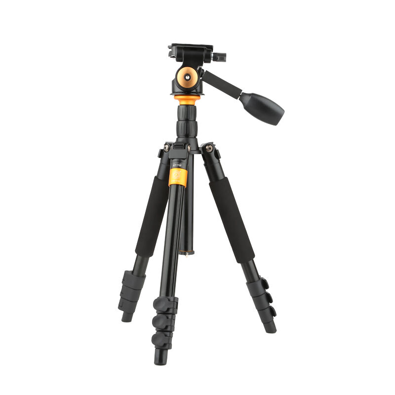 Q555B Portable Tripod Lightly SLR Camera Tripod Handle Head Single Micro Mini Portable Photographic Camera Bracket Q-570B крючок fbs universal uni 005