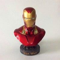 18 см Мстители 3 Железный человек бюст полимерный Бесконечная война часть I/II статуя Железный человек MK50 фигурку модель игрушки Новая коллекц