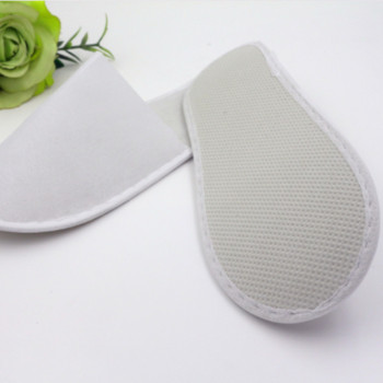 FAYUEKEY Wholesale 10 pairs lot Hotel Club Portable Disposable Close Toe Travel Slippers Home Guest SPA Slippers Shoes 1