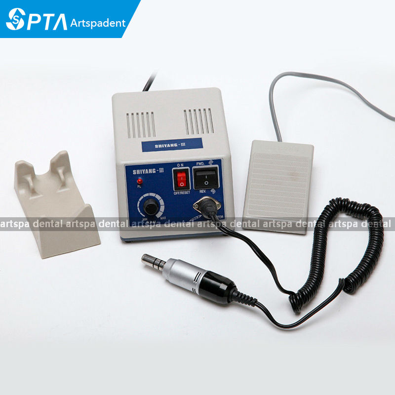Dental Lab Marathon Micro Motor Polishing Machine N3 &35K RPM Electric Motor Handpiece 1pc white or green polishing paste wax polishing compounds for high lustre finishing on steels hard metals durale quality