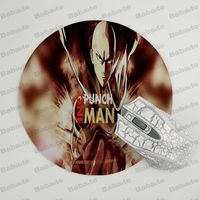 Babaite  ONE PUNCH-MAN Silicone Pad to Mouse Game Size for  20x20cm Gaming Mousepads 5