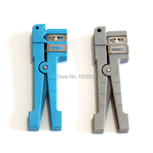 สายเคเบิลไฟเบอร์ออปติกเครื่องมือFiber Optic Stripper 45 162 และ 45 163 Coaxial Cable Stripper