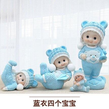 Ensemble Mignon guindée poupées donner de mariage idées cadeaux à des amis et amies maison statues sculpture Maison de mariage