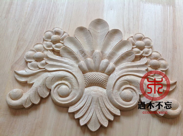 ▻do not forget to log in dongyang wood wood applique flower