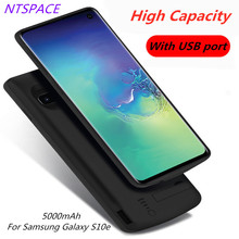 Power Bank For Samsung Galaxy S10e Backup Portable Battery Charger Case 5000mAh Extended Phone