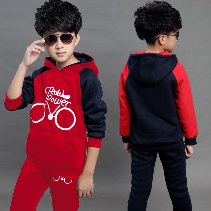 4304a68d6ccc Spring Jacket Coat Girls Clothing Set Children Velvet Sports Suit ...