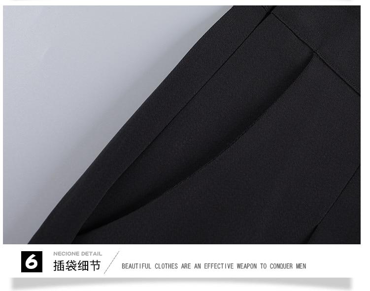 New OL suits 2018 summer Korean fashion stripe chiffon blouse top & wide-legged pants two pcs clothing set lady outfit S-4XL 28