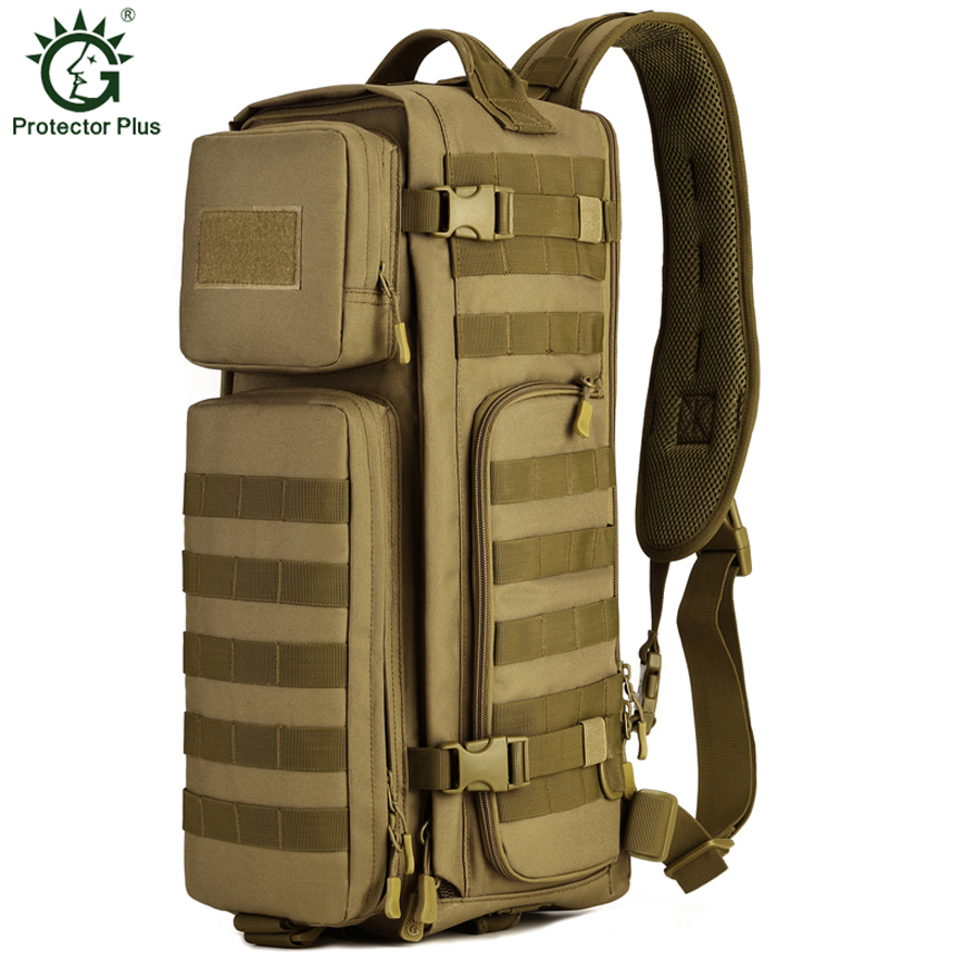 Tactical Assault Backpack Outdoor Camping Climbing Travel Hiking Rucksack Molle Military Shoulder Bag Trekking Sports Bag цена