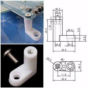 Image 5 - 40 sztuk/zestaw L typ pcb stopy montażowe ze śrubą do Arcade JAMMA MAME gra planszowa Drop Shipping
