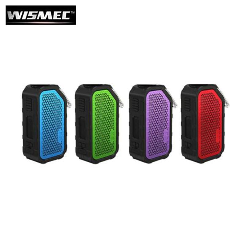 Original Wismec Active 80W BOX MOD Bluetooth Speaker Waterproof Vaporizer Fit AMOR NS NSE Tank Electronic Cigarette MOD