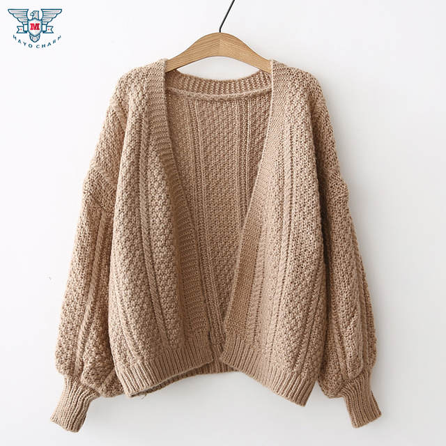 0d79519c8ae9de Online Shop Batwing knitted sweater women Autumn winter fashion warm jumper  sweater oversize shawl cardigan sweaters women knitwear coat