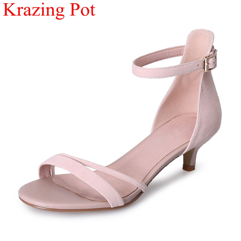 gladiator pointed toe pearl square heel women sandals slip on office lady sweet casual mules big size elegant summer shoes L07 xiaying smile summer women sandals casual fashion lady square heel slip on flock shoes pointed toe cover heel lace bowtie shoes