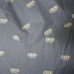 custom printed logo gift tissue paper/ moisture proof packing paper/ wrapping paper